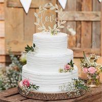 Cake Topper Bois Love 15 cm