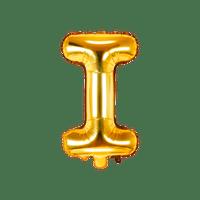 Ballon Lettre I Or 35 cm