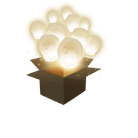 Balloon Blanc x40