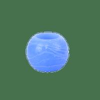 Bougie Déco Led Mariage, Fête, Anniversaire Bougie Boule Led Bleu 5Cm (Lot De 3 Pièces)