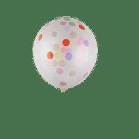 Ballon Confettis x5