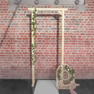 Arche Mariage Rectangle Bois 1,15x2,15 M