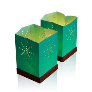 Sac Lumineux flottant Tulum Turquoise x2