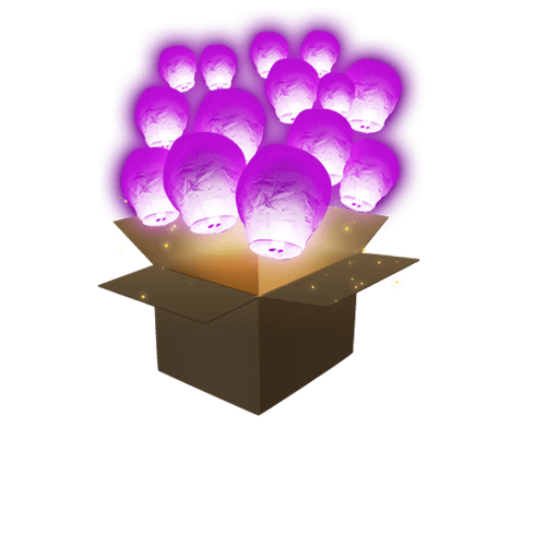 Balloon Parme x50