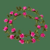 Marque Place mini roses Fuchsia x2