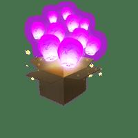 Balloon Rose x40