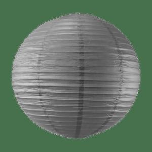 Boule papier 50cm Gris