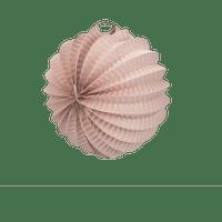 Deco Mariage, Fête, Anniversaire Lampion Rond 20 Cm Rose Pâle (Lot De 10 Pièces)