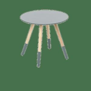 Table Basse Scandinave Bois Gris foncé 45 cm