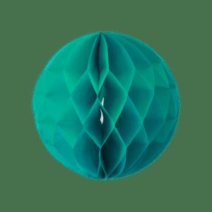 Boule chinoise alvéolée 20 cm Vert d'eau