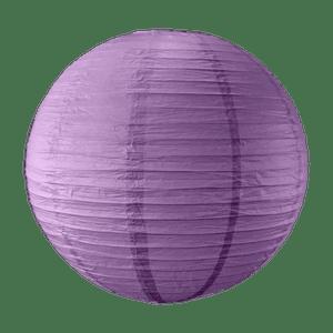 Boule papier 50cm Aubergine