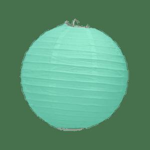 Boule Papier Vert Eau 20 cm x3