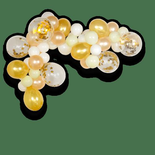 Arche De Ballon Or 2 m x50