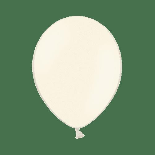 Lot De 10 Ballons Crème Plastique Crème Résistant x10