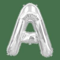 Ballon Lettre A Argent 90 cm