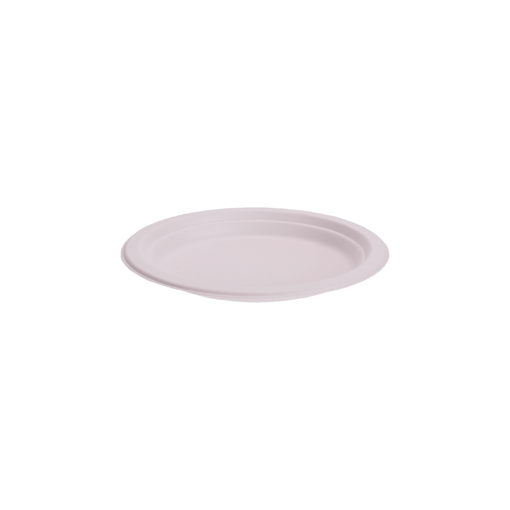 Assiette en Bagasse 18cm