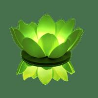 Lanternes Flottantes Soirée Mariage & Fête, Anniversaire, Fête Nymphea Led Vert (Lot De 3 Pièces)