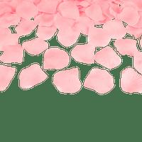 Petale De Rose Tissu Rose Pâle x100