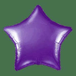 Ballon Étoile Violet 48 cm