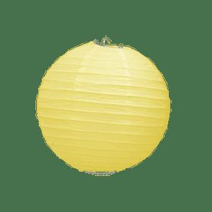 Boule Papier Jaune Pale 10 cm x3