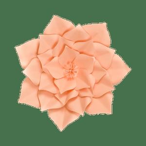 Fleur En Papier Gardénia Pêche 30 cm