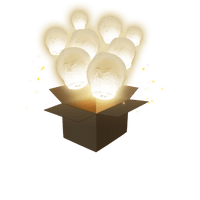 Balloon Blanc x5