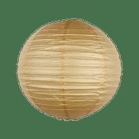 Boule Papier 30cm Sable