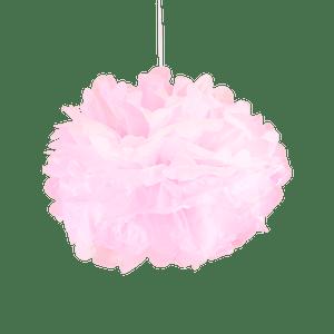 Pompons Rose pâle 30cm x2