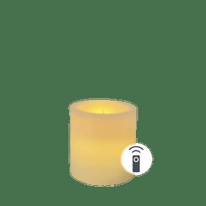Bougie LED Ivoire 7,5cm Télécommandable