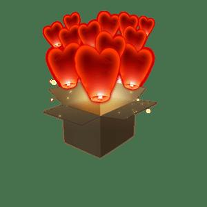 Coeur Rouge x30