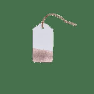 Marque-Places Blanc et Rose Champagne x10