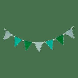 Guirlande papier Vert