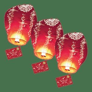 Lot de 3 Lettres au Père Noël volante®