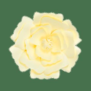 Fleur En Papier Anémone Jaune Pâle 30 cm