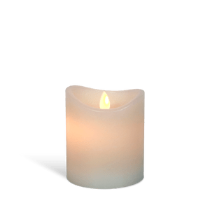 Bougie LED Ivoire 10cm Flamme Vacillante
