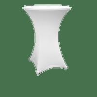 Nappe Extensible pour Table Haute 110x80 Blanche
