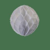 Déco Mariage, Fête, Anniversaire Boule Chinoise Alvéolée 20 Cm Blanc (Lot De 5 Pièces)