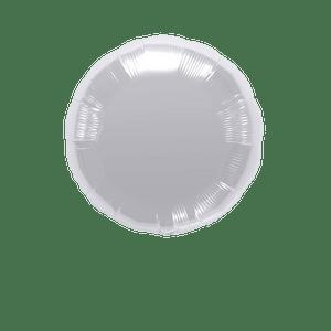 Ballon Rond Argent 45 cm
