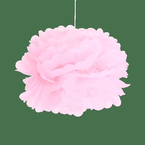 Pompons Rose pâle 40cm x2