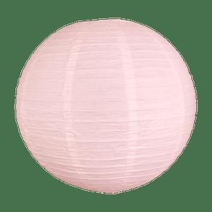 Boule papier 50cm Rose pâle