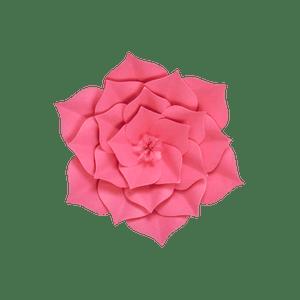 Fleur En Papier Gardénia Fuchsia 20 cm