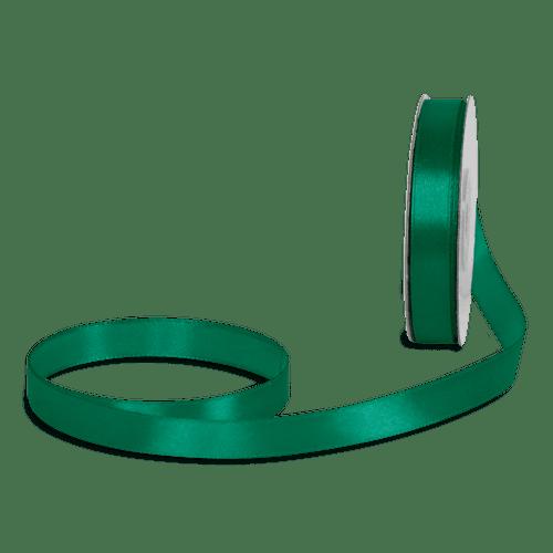 Ruban Satin Vert Foncé 12mm x 25m