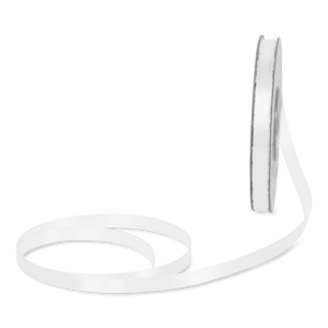 Ruban Satin Blanc 6mm x 25m