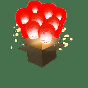 Balloon Rouge x5