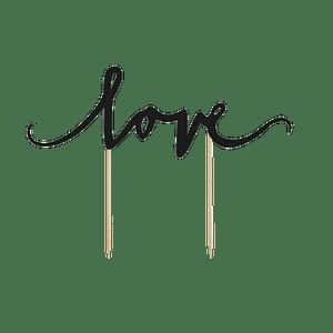 """Pic  mot """"Love' Bois Noir"""