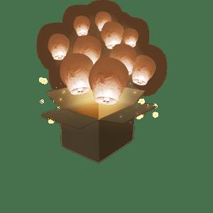 Balloon Chocolat x10