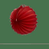 Lampion rond 20 cm Rouge