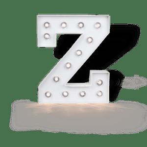 Lettre Lumineuse Z