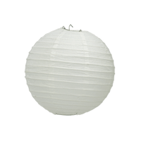 Boule Papier Blanc 10 cm x3