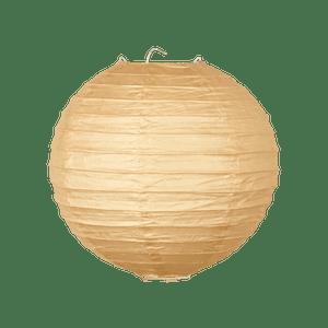 Boule Papier 20cm Sable